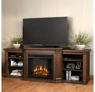 Real Flame 7930E W White Valmont Media Console