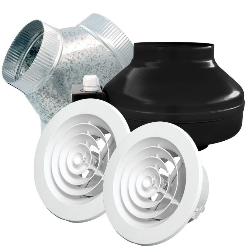 Air king 80 cfm ceiling eco exhaust bath fan energy star for Zone 0 bathroom extractor fan