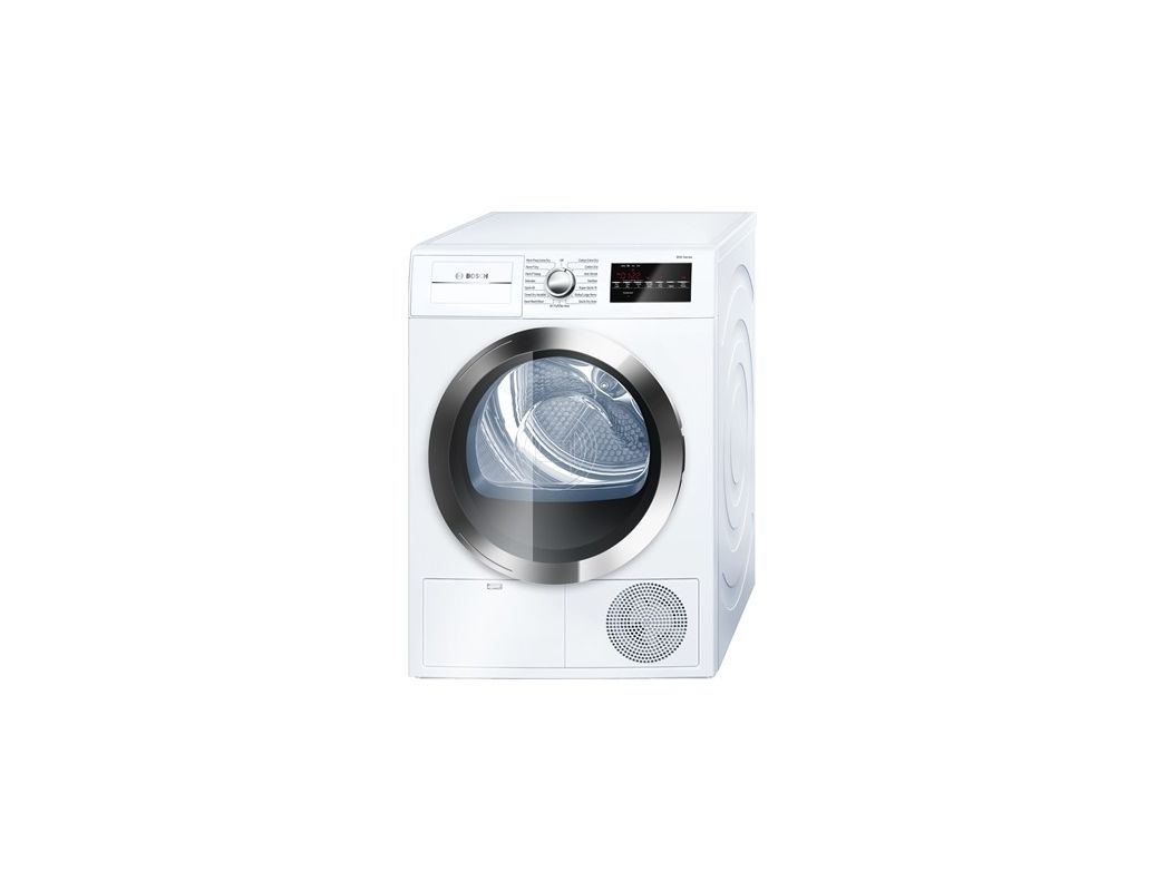 Bosch WTG86402U 24 Inch Wide 4 Cu. Ft. Energy Star Rated Electric Dryer with Ven